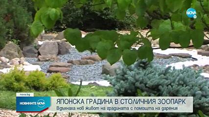 Обновиха японската градина в Софийския зоопарк
