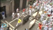 4 People Gored in Spain's 5th Pamplona Running of the Bulls