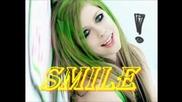 Avril Lavinge Smile