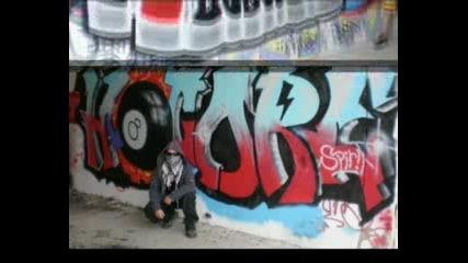 Ns graffiti action