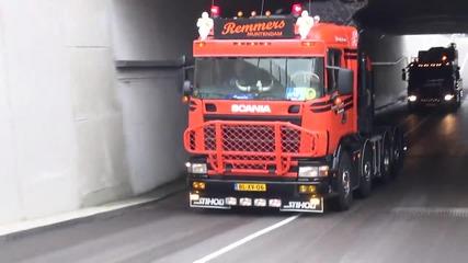 2x Scania v8's - Remmers transport bij truckstar 2013