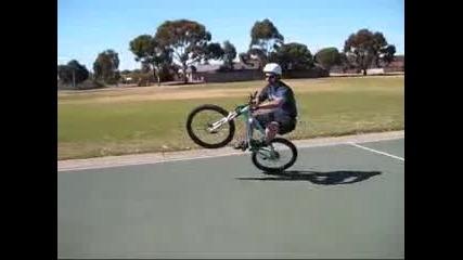 0пасни и трудни трикове с Mountain Bike
