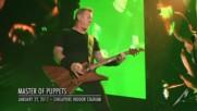Превод - Metallica - Master of Puppets - Live Singapore 2017