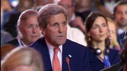 France: John Kerry salutes 'tremendous victory' of climate change deal