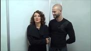 """Dancing Stars - Сани и Симеон за """" Седмицата на любовта """" 25.03.2014г"""