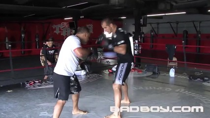 Junior dos Santos training for Ufc 108