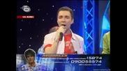 Лазар, Дамян и Денислав праваят трио на песента от Приятели - Music Idol 2 - 17.03.2008г. (супер качество)