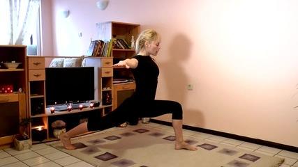 Бързо следпразнично отслабване с фет-бърнинг йога