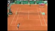 Roland Garros 2009 : Федерер - Монфис