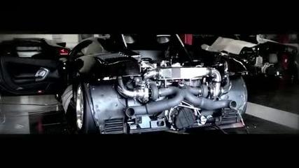 Откачено Lamborghini Gallardo с Twin Turbo и 1500 кончета под капака