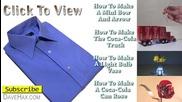 Как се сгъва тениска за две секунди
