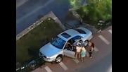 Един много мноооого ядосан собственик на Audi A8