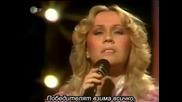Abba - The Winner Takes It All Live 1980 (bg sub)