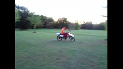 Wheelie Circle then Tail Breaker on my Xr200 (hq)