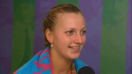 Цвети Пиронкова бе елиминирана от Петра Квитова 28.06.2011