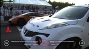 Nissan Juke R Shpilli Villi Engineering vs Ugr Gallardo Twin Turbo