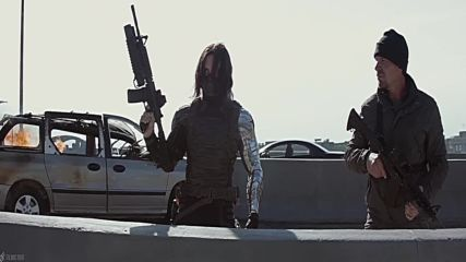 Highway Chase _ Captain America The Winter Soldier 2014