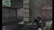 cod mw3- headshot с базука