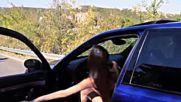 Bmw E39 M5 Tef Girl - Quick Burnout - Loud exhaust