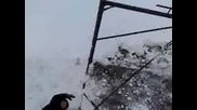 скачане от балкон