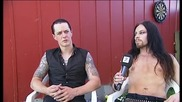 Satyricon - Frost og Satyr pa Roskilde (interview)