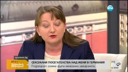 Джамбазки: Ще има все повече сексуални нападения от мигранти