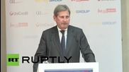 Germany: 'Sanctions will not be a subject for all eternity' - East Forum speaker Hahn
