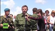 Ukraine: MH17 memorial plaque unveiled near Donetsk on one-year anniversary
