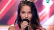 Момиче псува журито в X Factor 15.09