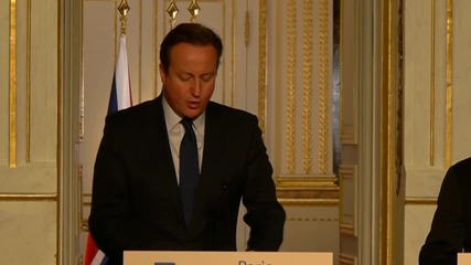"""Камерън предложи на Оланд базата Акротири за удари срещу """"Ислямска държава"""""""