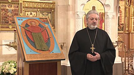 Russia: Orthodox Church installs first icon for visually impaired at Moscow cathedral