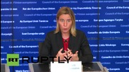 Luxembourg: 'Different approach' needed to achieve political transition in Syria - Mogherini