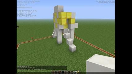#2 Minecraft 1.5 най-нуубското нещо :d