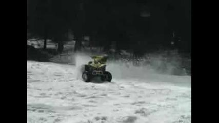 Can - Am Renagade I Suzuki King Quad V Snega