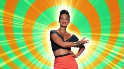 Alicia Keys - Girl On Fire + превод