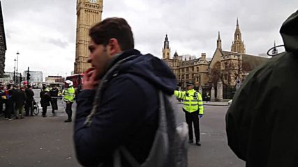 UK: Parliament Square on Lockdown after deadly Westminster attack
