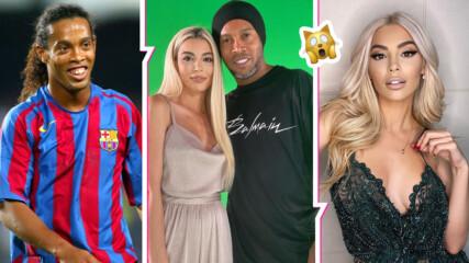 Мегз и Роналдиньо се намериха в Дубай! Българката заработи с футболната легенда