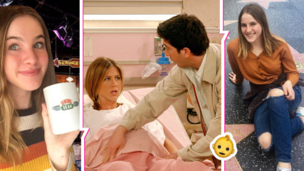 Помните ли, че в сериала ''Приятели'' Рейчъл и Рос имаха бебе? Вижте Ема днес!