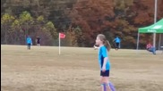 Елен вкара гол на футболен мач