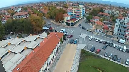 Град Нова Загора заснет с дрон