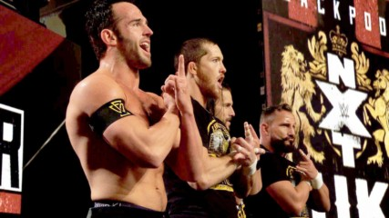 Undisputed ERA celebrate their Imperium attack: WWE.com Exclusive: 1-12-20