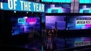 Ama 2012 ! Джъстин печели награда за артист на годината