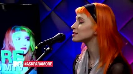 Paramore - Misery Business Live From Mtv