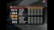 Usa Basketball Blue 105 White 104