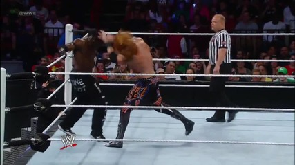 R-truth vs. Heath Slater- Heath Slater rita Little Jimmy 05.04.2012