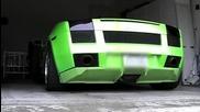 Много добър звук от Lamborghini Gallardo