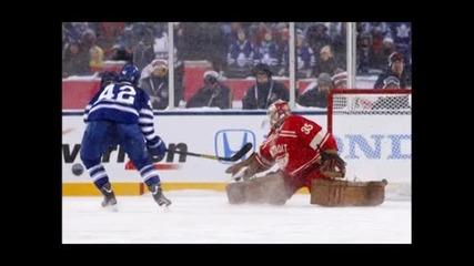 Над 105 000 зрители се събраха за Зимната класика в НХЛ