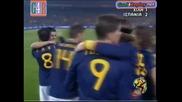 25.06.2010 Чили - Испания 1:2 Всички голове и положения - Мондиал 2010 Юар