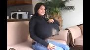 жена с големи гърди