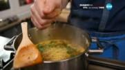 Супа от боб леща и фиде - Бон Апети (13.12.2016)